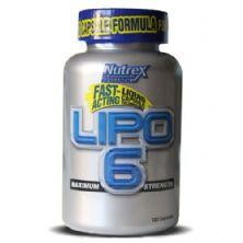 Lipo 6 - Nutrex Research - 120 Cápsulas