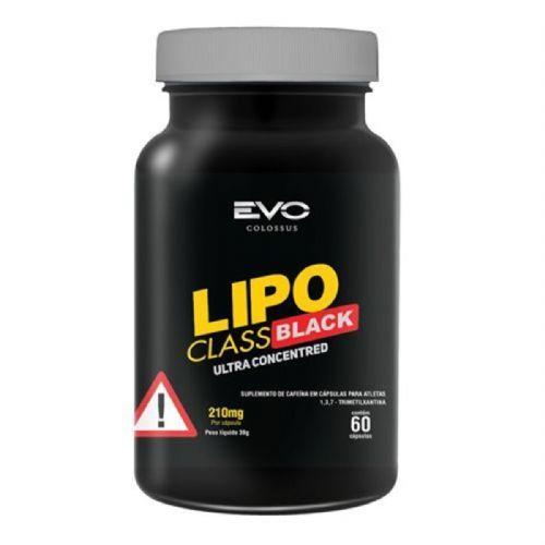 Lipo Class Black - 60 Cápsulas - Evo Colossus no Atacado