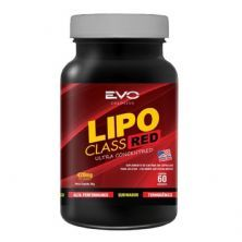 Lipo Class Red - 60 Cápsulas - Evo Colossus*** Data Venc. 30/07/2020
