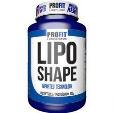Lipo Shape - 100 Cápsulas Softgels - ProFit