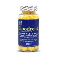 Lipodrene 25mg - 100 Comprimidos - HTP HI-TECH