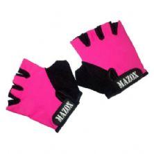 Luva para Musculação - Tamanho M - Pink - Mazox
