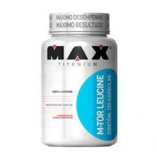 M-Tour Leucine - 120 Cápsulas - Max Titanium