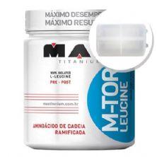 M-Tour Leucine - 120 cápsulas + Porta Cápsulas transparente - Max Titanium