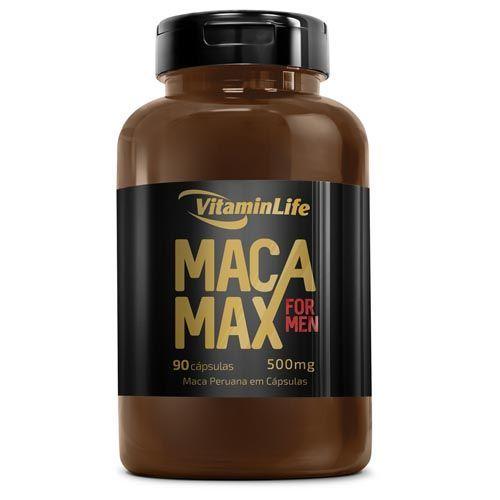 Maca Max - Maca Peruana - 90 Cápsulas - Vitaminlife