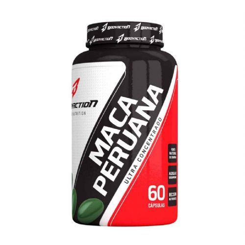 Maca Peruana - 60 Cápsulas - Body Action no Atacado