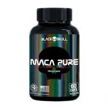 Maca Pure - 60 Cápsulas - Black Skull