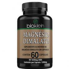 Magnésio Dimalato  - 60 Cápsulas - Bioklein
