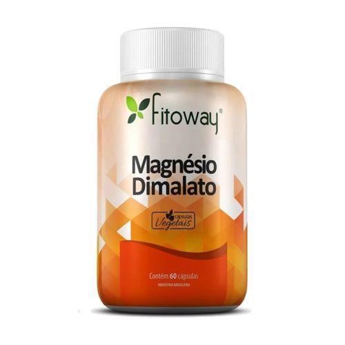 Magnésio Dimalato - 60 Cápsulas - Fitoway no Atacado