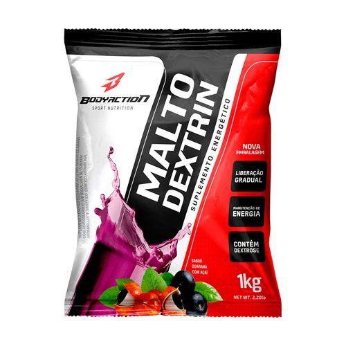 Malto Dextrin - 1000g Refil Guarana com Açaí - BodyAction