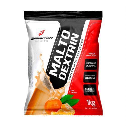 Malto Dextrin - 1000g Refil Tangerina - BodyAction no Atacado