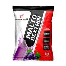 Malto Dextrin - 1000g Refil Uva - BodyAction*** EMBALAGEM AVARIADA *** Data Venc. 30/09/22