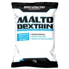 Malto Dextrina - 1000g Refil Morango - Body Nutry