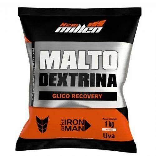 Maltodextrina - 1000g Refil Uva - New Millen no Atacado