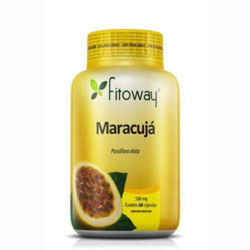 Maracujá - 60 Cápsulas - Fitoway no Atacado