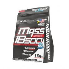 Mass 18500 - 3000g Refil Morango com Banana - Body Nutry