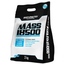 Mass 18500 Refil - 3000g Milk Shake de Morango - Body Nutry