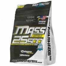 Mass 25500 - 1500g Refil Morango com Banana - Body Nutry