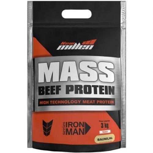 Mass Beef Protein - 3000g Refil Baunilha - New Millen no Atacado
