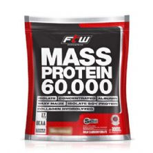 Mass Protein 60.000 - 3Kg Refil Chocolate - FTW
