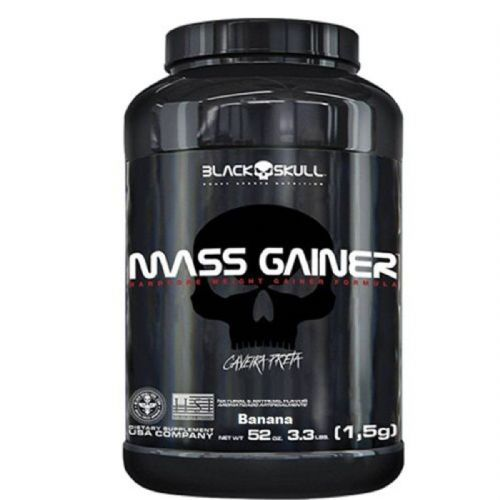 Mass Gainer - 1500g Banana - Black Skull no Atacado