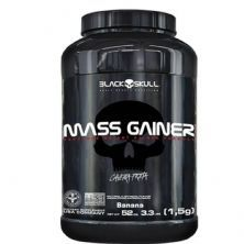Mass Gainer - 1500g Banana - Black Skull