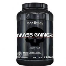 Mass Gainer - 1500g Baunilha - Black Skull