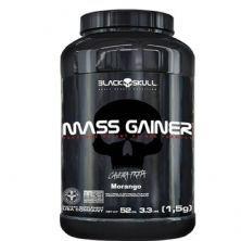 Mass Gainer - 1500g Morango - Black skull