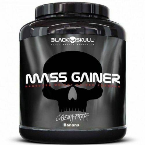 Mass Gainer - 3000g Banana - Black Skull no Atacado