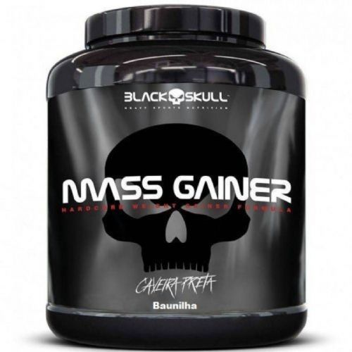 Mass Gainer - 3000g Baunilha - Black Skull no Atacado