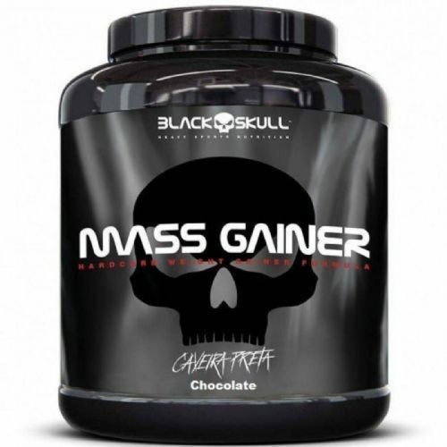 Mass Gainer - 3000g Chocolate - Black Skull no Atacado