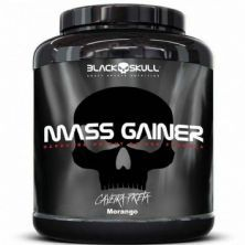 Mass Gainer - 3000g Morango - Black skull