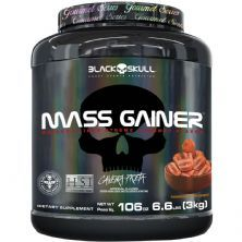 Mass Gainer Gourmet - 3000g Churros - Black Skull