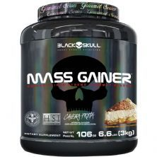 Mass Gainer Gourmet - 3000g Torta Banoffee - Black Skull
