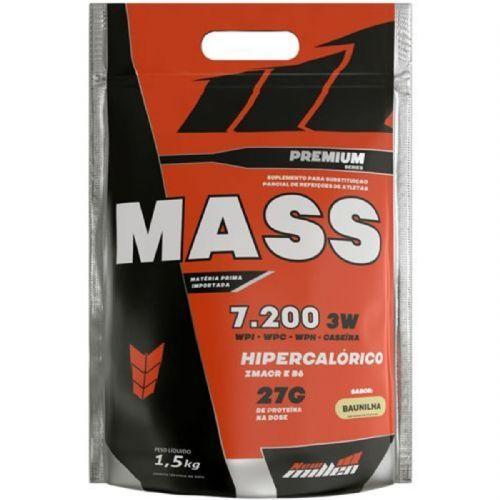 Mass Premium 7200 - 1500g Refil Baunilha - New Millen no Atacado