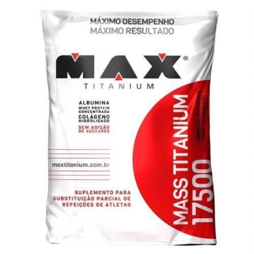 Mass Titanium 17500 - 1400g Refil Baunilha - Max Titanium no Atacado