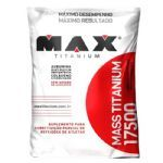 Mass Titanium 17500 - 3000g Refil Baunilha - Max Titanium