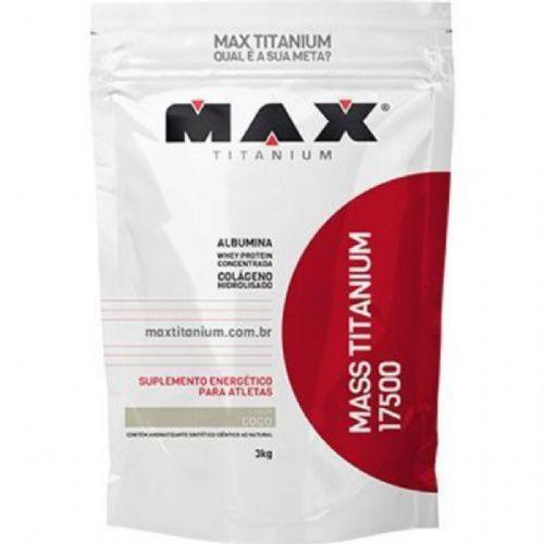 Mass Titanium 17500 - 3000g Refil Coco - Max Titanium no Atacado