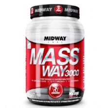 Mass Way 3000 - 1000g Morango - Midway