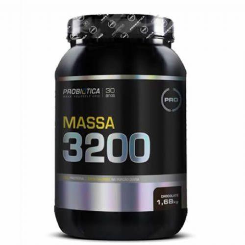 Massa 3200 - 1680g Chocolate - Probiótica no Atacado