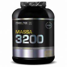 Massa 3200 - 3000g Baunilha - Probiótica