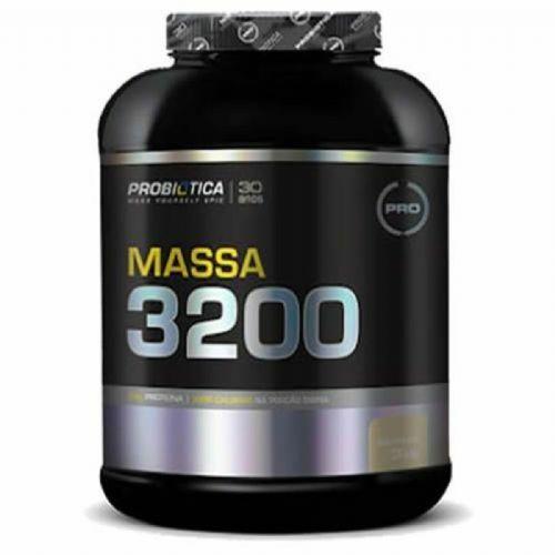 Massa 3200 - 3000g Baunilha - Probiótica no Atacado