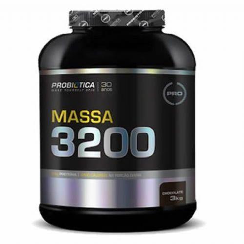 Massa 3200 - 3000g Chocolate - Probiótica no Atacado