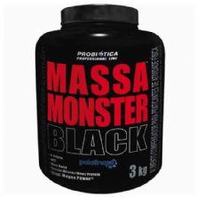 Massa Monster Black - 3 Kg Baunilha - Probiótica