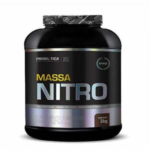 Massa Nitro - 3000g Chocolate - Probiótica no Atacado