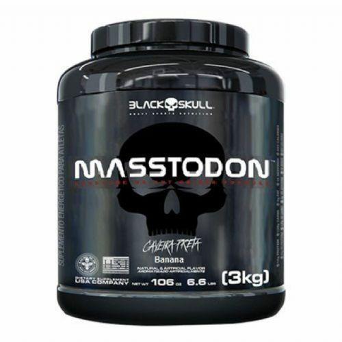 MassTodon - 3000g Banana - Black Skull no Atacado