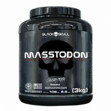 MassTodon - 3000g Banana - Black Skull