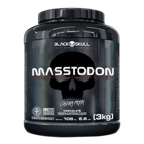 MassTodon - 3000g Chocolate - Black Skull no Atacado