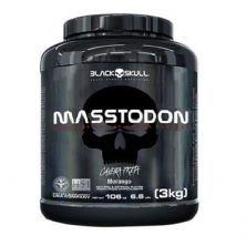 MassTodon - 3000g Morango - Black Skull