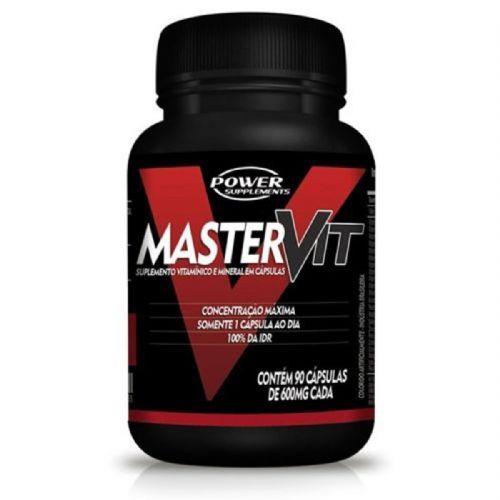 Master Vit - 90 Cápsulas - Power Supplements no Atacado
